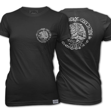 MSA WOMENS BLACK TEE